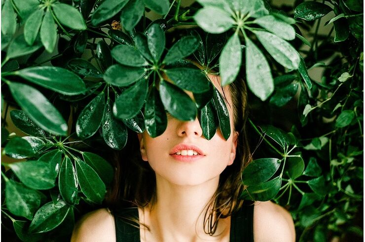 woman-in-black-top-beside-green-leafed-plant-1078058